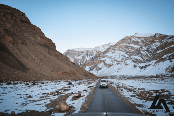 Drive to Spiti Valley During Winters
